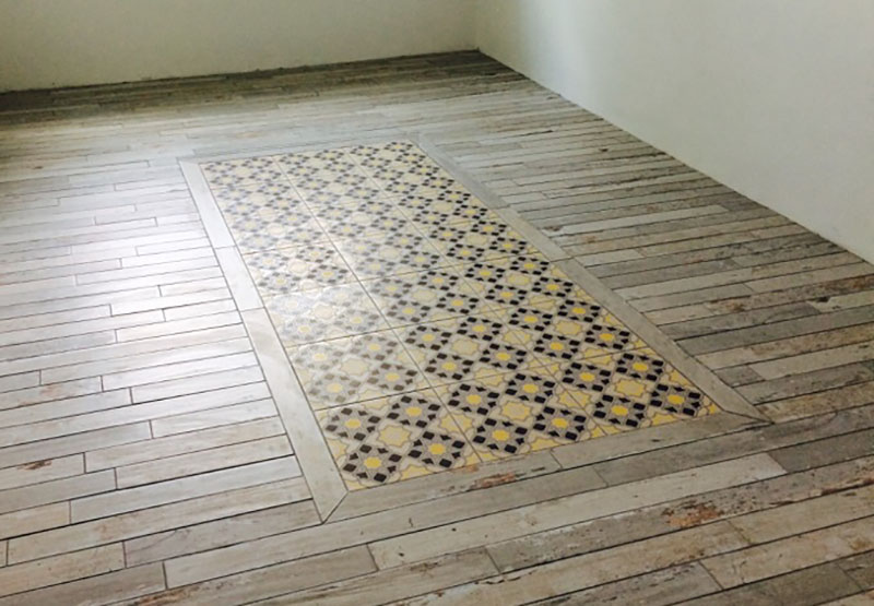 Let Your Floor Make A Statement Tile Gallerie